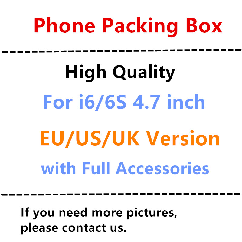 20pcs High Quality With Full Accessories Package Box US EU UK Version Phone Packaging Packing Box