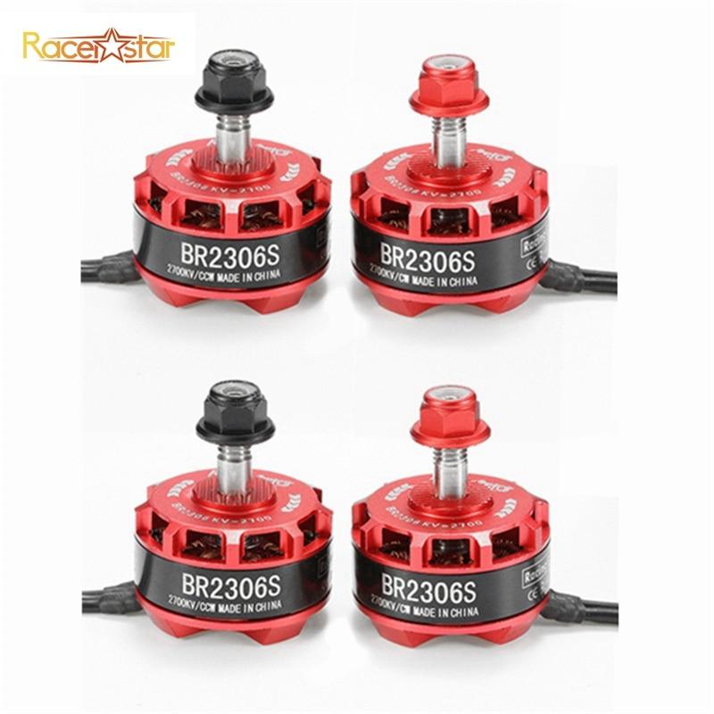 2017 Original 4pcs 4X Racerstar Racing Edition 2306 BR2306S 2700KV 2-4S Brushless Motor For X210 X220 250 FPV Racer Quadcopter touchstone teacher s edition 4 with audio cd