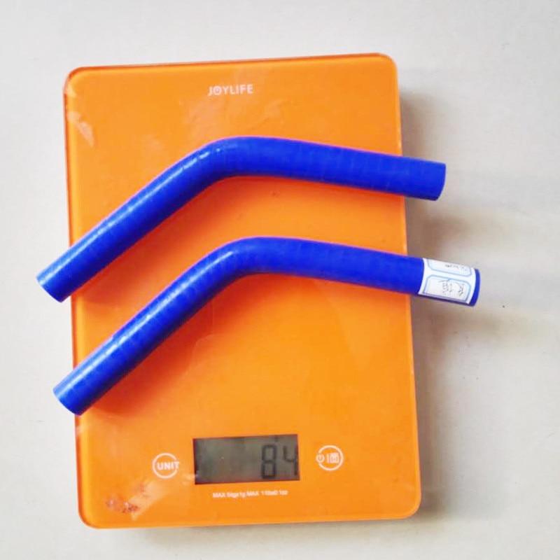 Prix pour 6.5mm 8mm 9.5mm 11mm 13mm 16mm 19mm 22mm 45 Degrés Coude Silicone Tuyau d'arrosage Turbo Admission bleu noir rouge