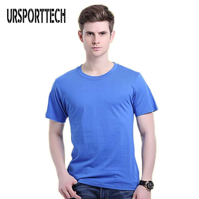 020e9080899f URSPORTTECH 2017 New Solid color T Shirt Mens Black And White 100% cotton T- shirts Summer Skateboard Tee Boy Skate Tshirt Tops