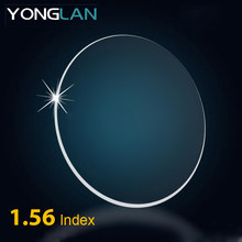 e39abe8a0 Yong Lan 1.56 1.61 1.67 Índice de 1.74 Lentes de Óculos de Miopia  Astigmatismo Lente Clara Prescrição Unisex Revestimento de Len.