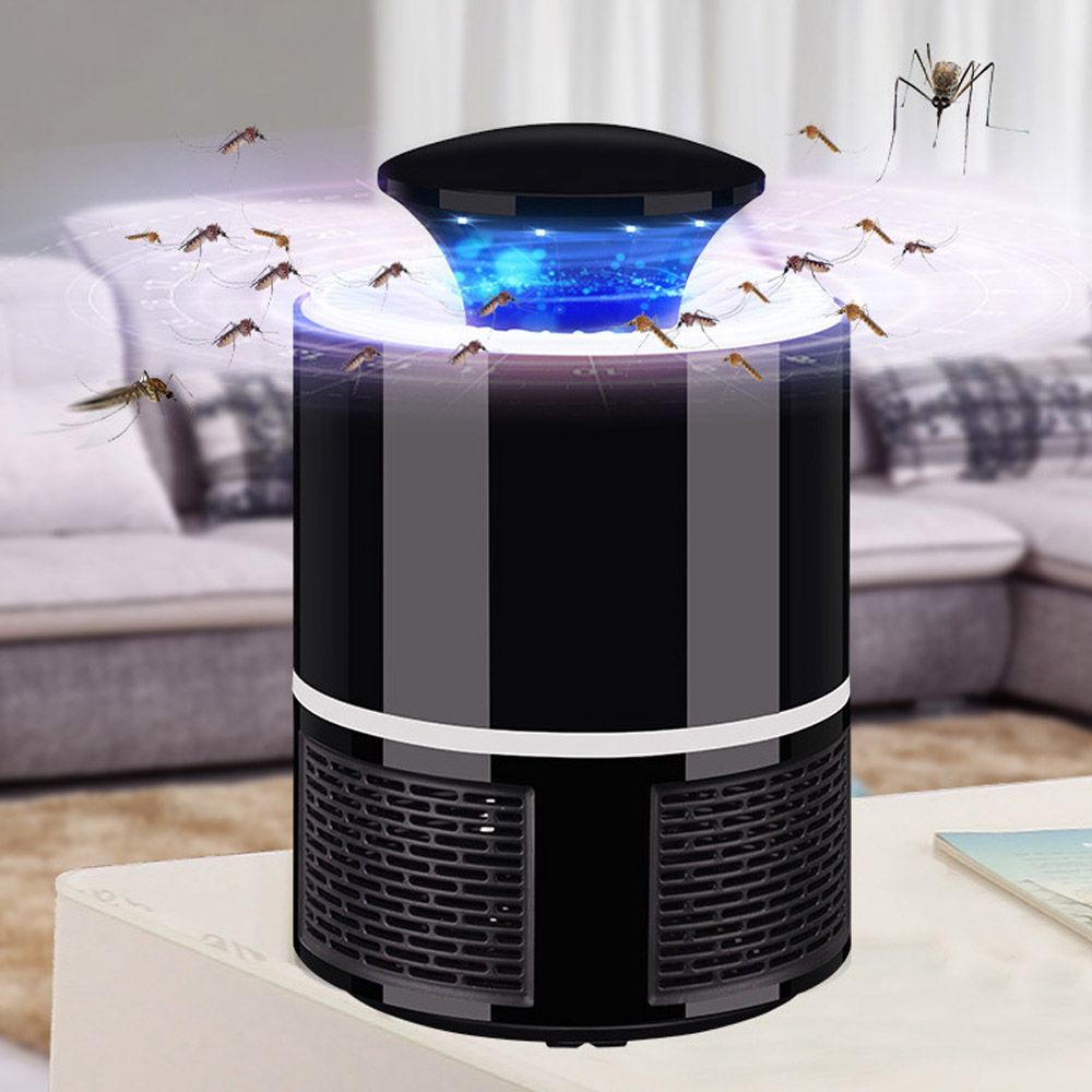 ETONTECK Mosquito killer USB electric mosquito killer Lamp Photocatalysis mute home LED bug zapper insect trap Radiationless image
