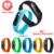 Para Android IOS Teléfono Inteligente Más Nuevo M2 Elegante Pulsera de la pulsera 0.42 Pulgadas OLED Pantalla IP67 A Prueba de agua Soporte de Monitor de Ritmo Cardíaco