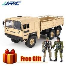 JJR/C/JJRC Q64 1:16 2,4G 6WD RC coche camión militar fuera de la carretera Rock Crawler 6 ruedas RC Racing Buggy camión juguetes para niños