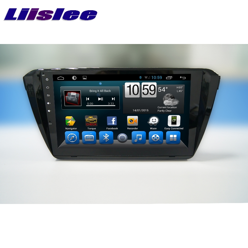 For Skoda Superb B8 2015~2017 LiisLee Car Multimedia TV DVD GPS Audio Hi-Fi Radio Stereo Original Style Navigation NAVI