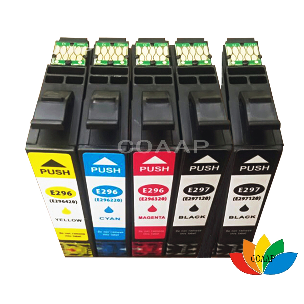 5 Compatible XP431 XP231 XP241 Printer Ink Cartridges for Epson T2971 T2962 T2963 T2964 29XL new original scn at flt15 0 z04 oh1 15 inch 5 wire touch screen warranty