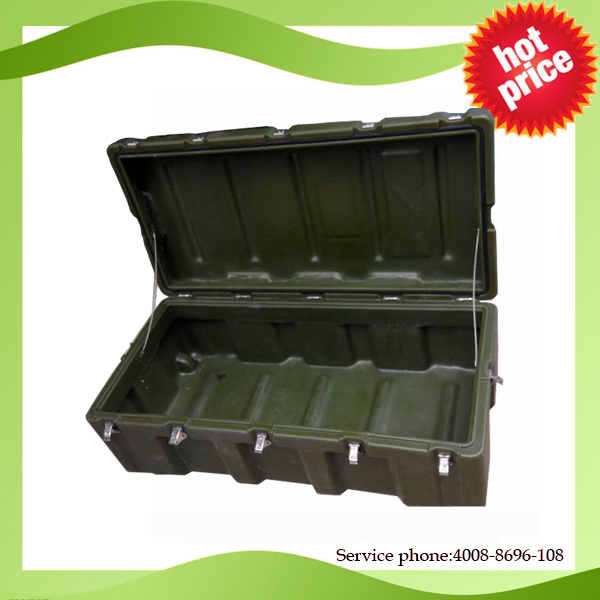 2017 China Factory RS870 Shockproof Crushproof Large Plastic Military Tool Case