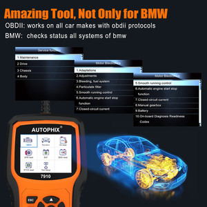 Image 4 - Autophix 7910 OBD2 Scanner Diagnostic Auto Full System ABS/Airbag/SAS/EPB reset For BMW/Mini/Rolls Royce Automotive Scanner