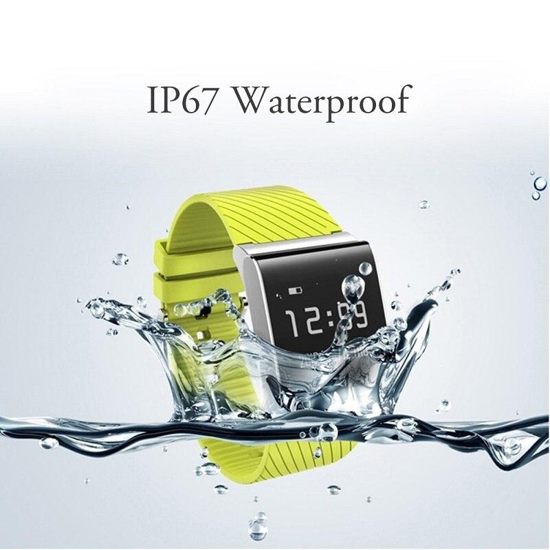 SMARCENT 09 Big Touch Screen Smart Bracelet Upgraded Heart Rate Monitor Blood Pressure Oxygen Monitor Smart