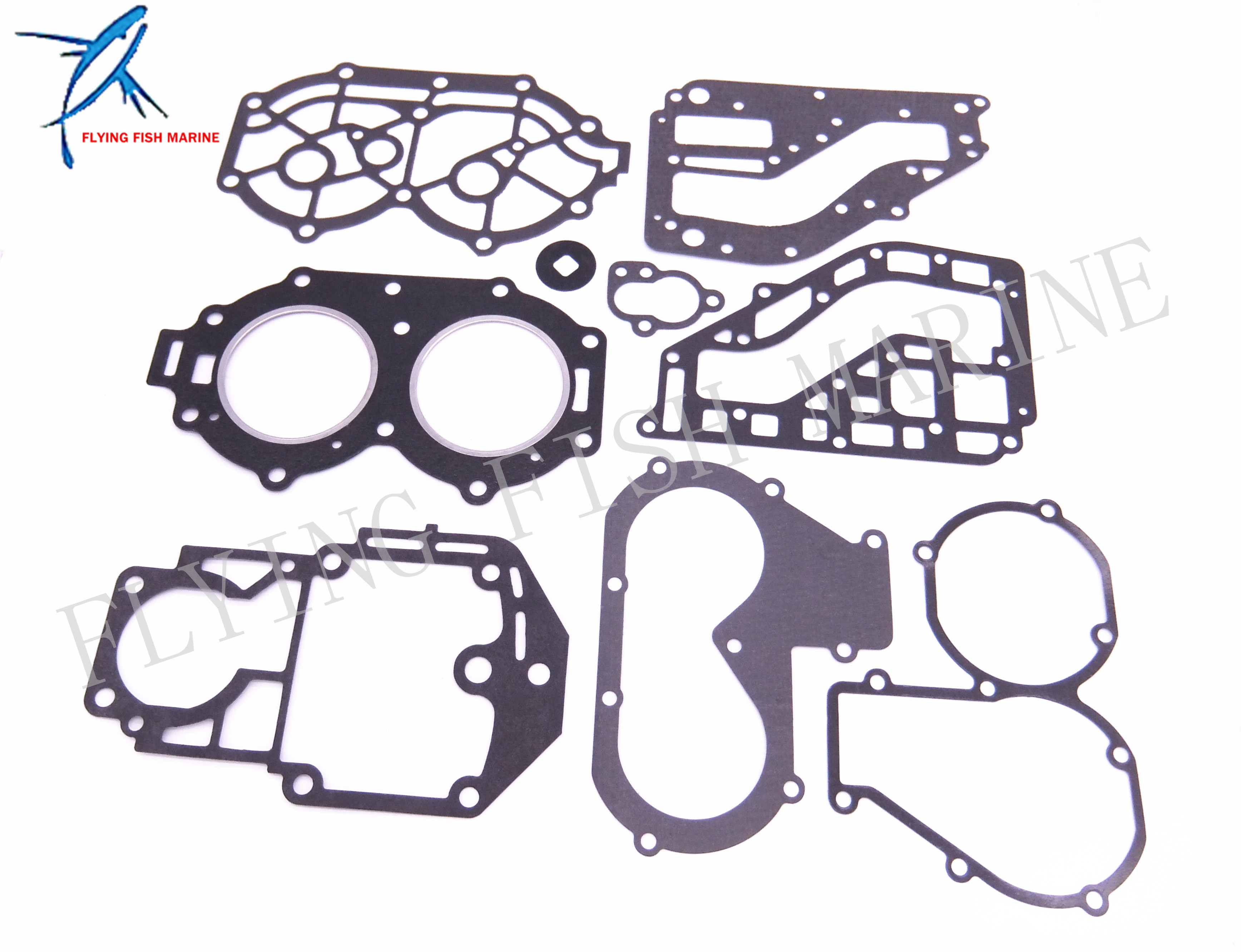 Boat Motor Complete Power Head Seal Gasket Kit for Yamaha 25HP 30HP Outboard Engine 67h 43880 00 new tilt trim motor for yamaha 115 225 hp 1997 2002 outboard engine power motor 64e 43880