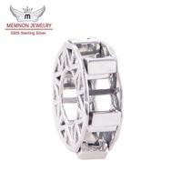 Ferris Wheel Charme Genuine 925 Sterling Silver Marca Europeia Fit Pulseiras Atacado Memnon Jóias YZ015