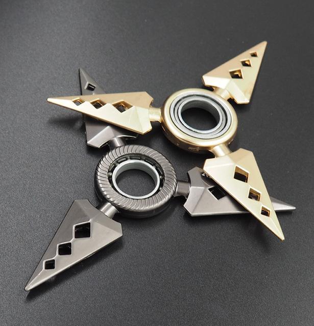 Naruto shuriken rotativo, dardos de rotação do rolamento, Anime arma modelo brinquedos, faca de brinquedo, presentes para as crianças.