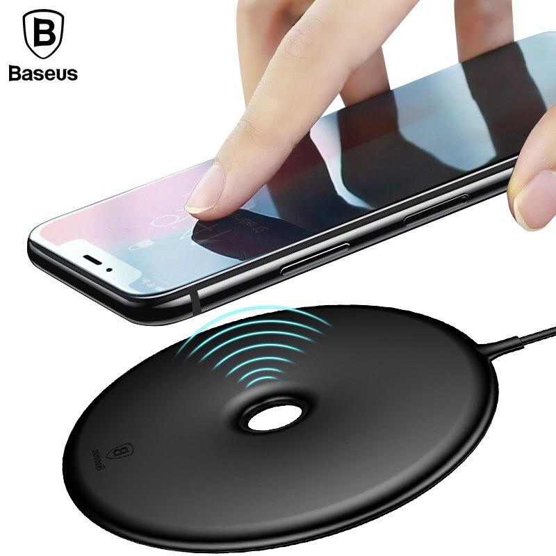 Baseus 15 Watt Schnelle Drahtlose Ladegerät Für iPhone X 8 8 Plus Donut schnelle Drahtlose Lade Für Samsung S8 S7 Hinweis 8 USB Lade Pad
