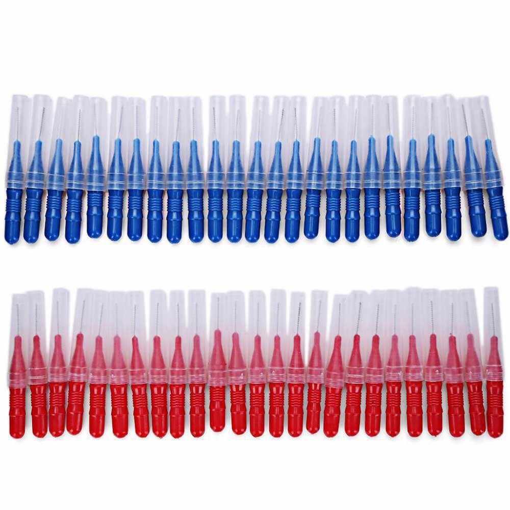 50 sztuk do pielęgnacji jamy ustnej zębów nici higiena jamy ustnej nić dentystyczna miękka plastikowa szczoteczka międzyzębowa wykałaczka zdrowe do czyszczenia zębów