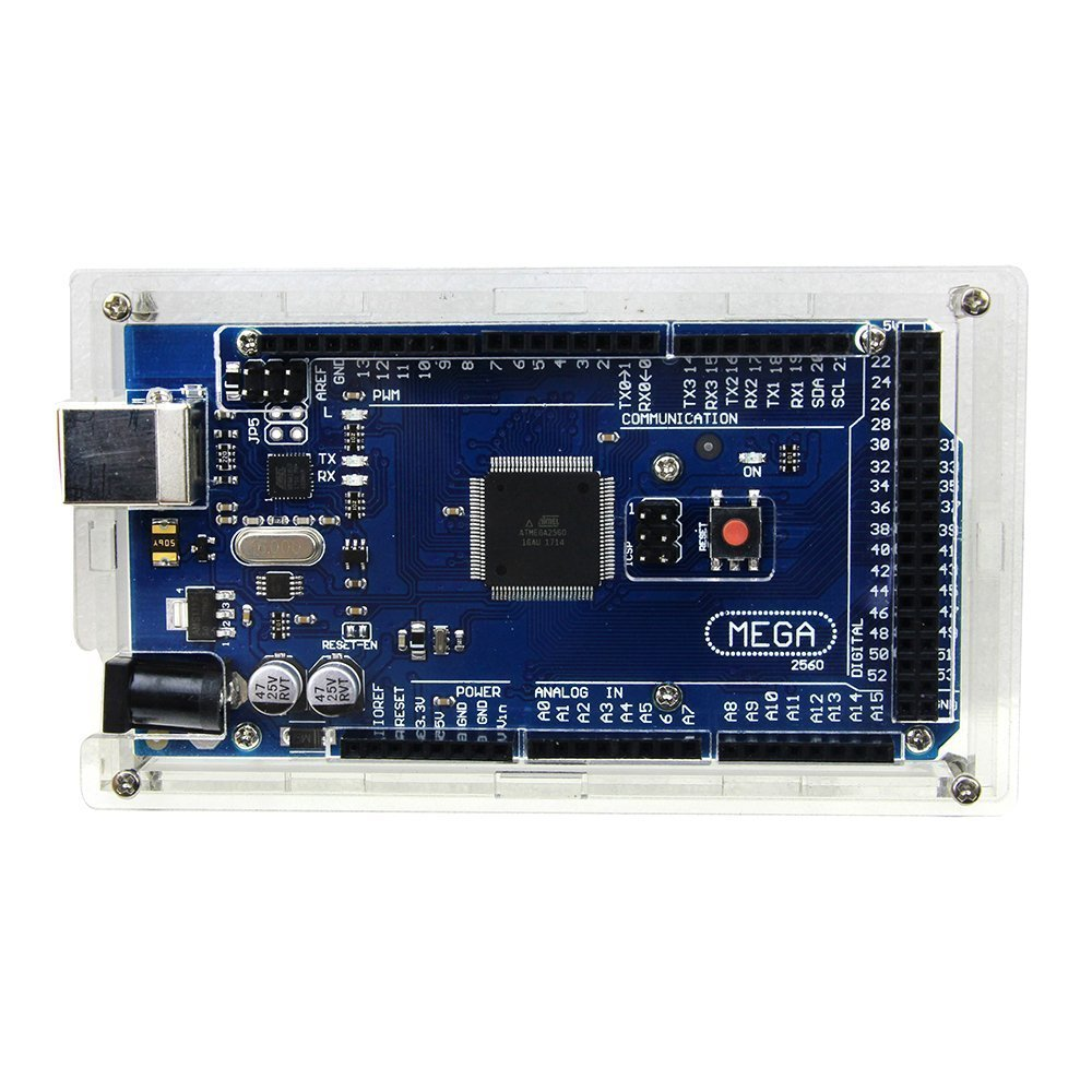 Heißer Acryl Box Klar Abdeckung Für Arduino Mega 2560 R3 Fall Mega2560 REV3 ATmega2560-16AU Board Kit diy