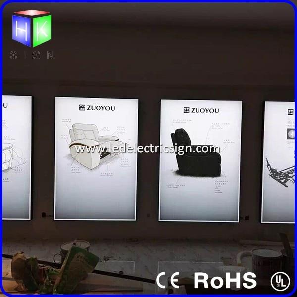 30 X 40 Nieuwe Frameloze Led Teken Boord Met Foto Frame Voor Muur