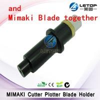 10 boxes 45 degrees Mimaki Cricut Cutting Plotter Vinyl Cutter Blades+ 1pcs Mimaki Blade holder
