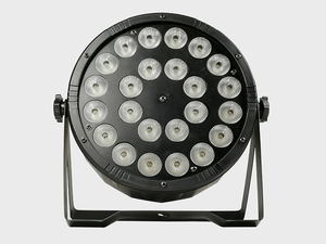 Image 5 - 8 조각/24x12w RGBW 4 in 1 Led 파 조명 풀 컬러 Led 플랫 파 빛 DMX512 Dj 워시 램프