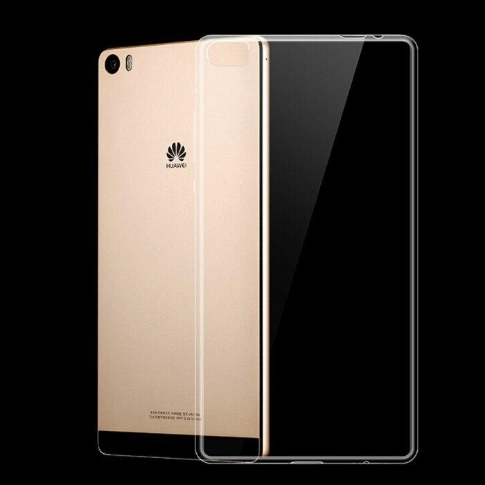 Cubierta de silicona para huawei p8 max accesorio del teléfono smartphone monede