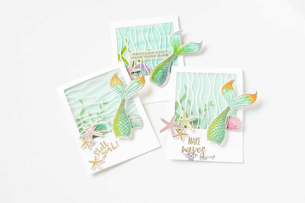 Wave Strip Cutting Dies Stencil DIY Scrapbook Paper Card Emboss Crafts