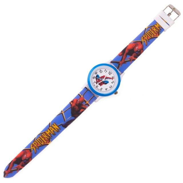 Have children come in ! Cartoon Anime Spiderman Children's Watches Kids Silicone Watch Boy Girl Student Sports Clock Child Watch