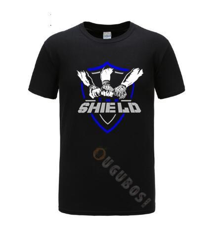 The Shield Dean Ambrose Seth Rollins Roman Reigns T-Shirt Me…