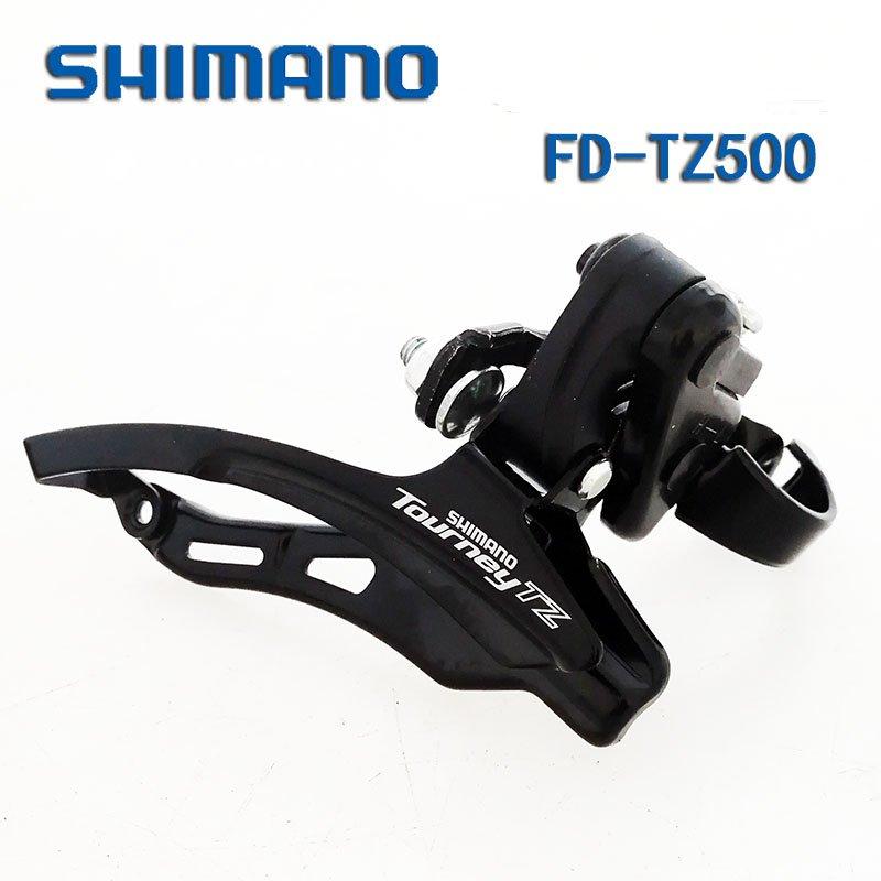 Shimano Bike Front Derailleur Tourney TZ fd-tz500 6 / 7s Honda 500ツイン
