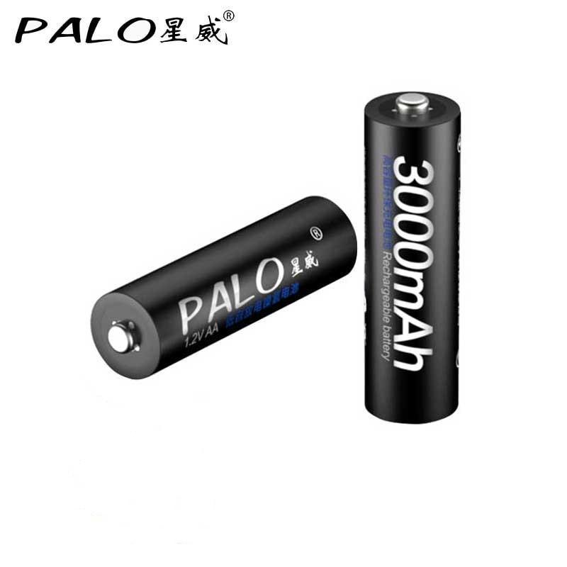 Image 5 - PALO 4PCS real Capacitya AA 2500mAh 1.2V 3000MAH NI MH Pre charged Rechargeable AA 1300MAH battery 3A 1100MAH AAA Baterias-in Rechargeable Batteries from Consumer Electronics