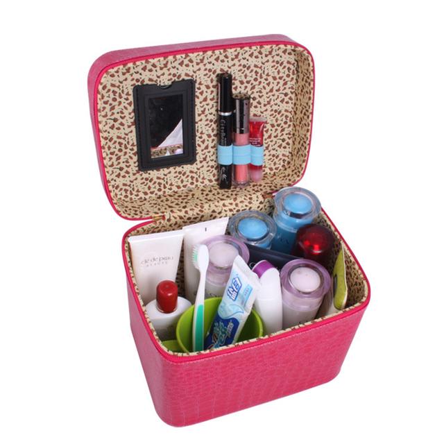 Nuevo Diseño de Marca de gran capacidad multi-función de bolsa de viaje bolsa de cosméticos a prueba de agua de Maquillaje Maquillaje Herramienta de Lavado Organizador De Almacenamiento bolsas