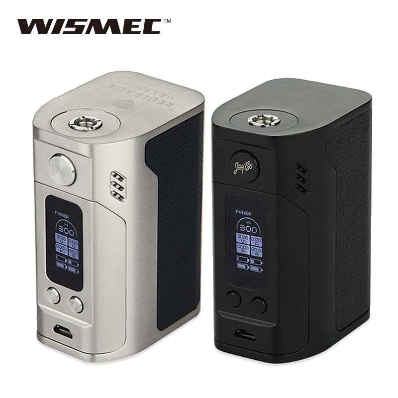Prix pour D'origine wismec reuleaux rx300 tc mod 300 w wismec rx300 boîte mod vw/tc modes cigarette électronique mod vs rx2/3 mod