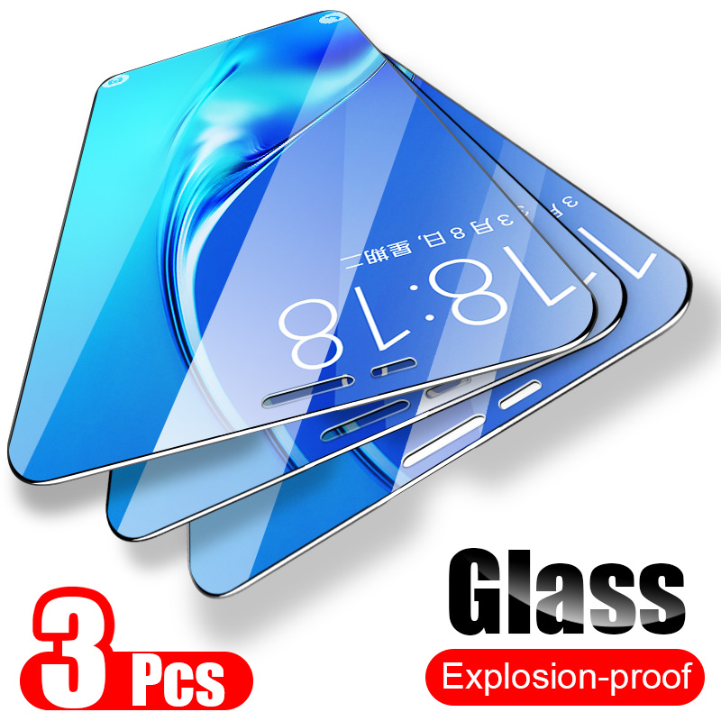 ZNP 3Pcs Tempered Glass For Samsung Galaxy A7 A9 2018 A5 J6 A6 A8 J4 Plus Screen Protector 9H 2.5D Glass Film on Samsung J6 2018