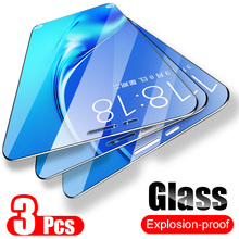 ZNP 3Pcs Tempered Glass For Samsung Galaxy A7 A9 2018 A5 J6 A6 A8 J4 Plus Screen
