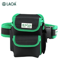 LAOA Multifunction Tool Bag 600D Double Layers Oxford Fabric Repair Bags Waist Pack Bag For Electrician