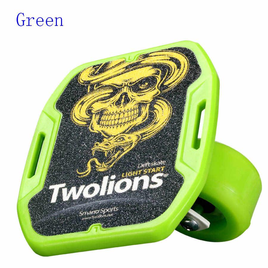 Twolions ABS Tàu Trôi Dạt Cho Freeline Con Lăn Road Drift Giày Trượt Lớp Phủ Chống Trượt Skateboard Boong Freeline Skates Wakeboard Miễn Phí Vận Chuyển