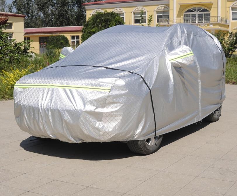 Haute qualité! Bâche de voiture spéciale personnalisée pour Ford Explorer 7 sièges 2018-2011 protection solaire glace et neige bâche de voiture, livraison gratuite