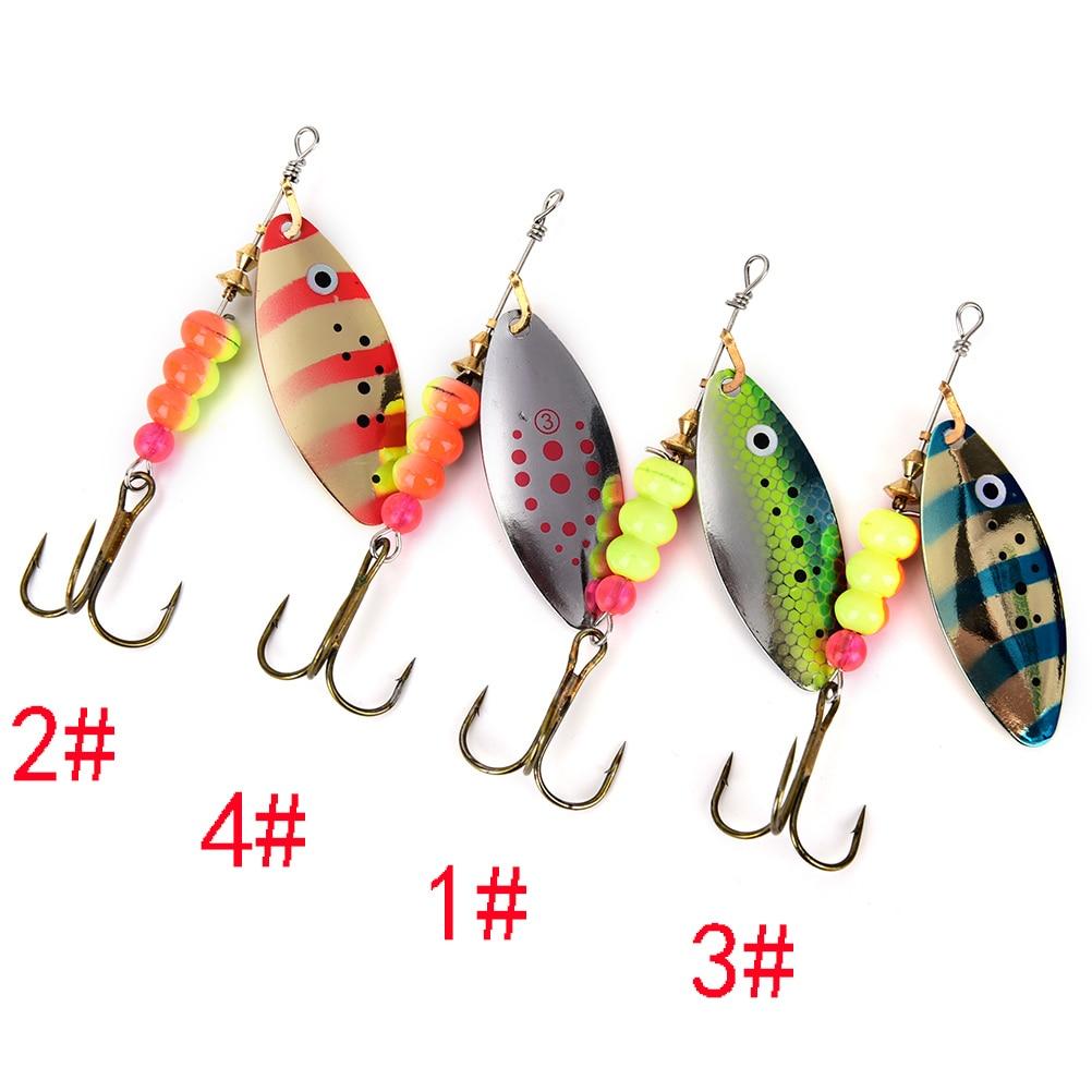 15g Spinner Spoon Shippin Fishing Lure Hook Anzuelos De Pesca Lures With Mustad Treble Hook Peche Jig