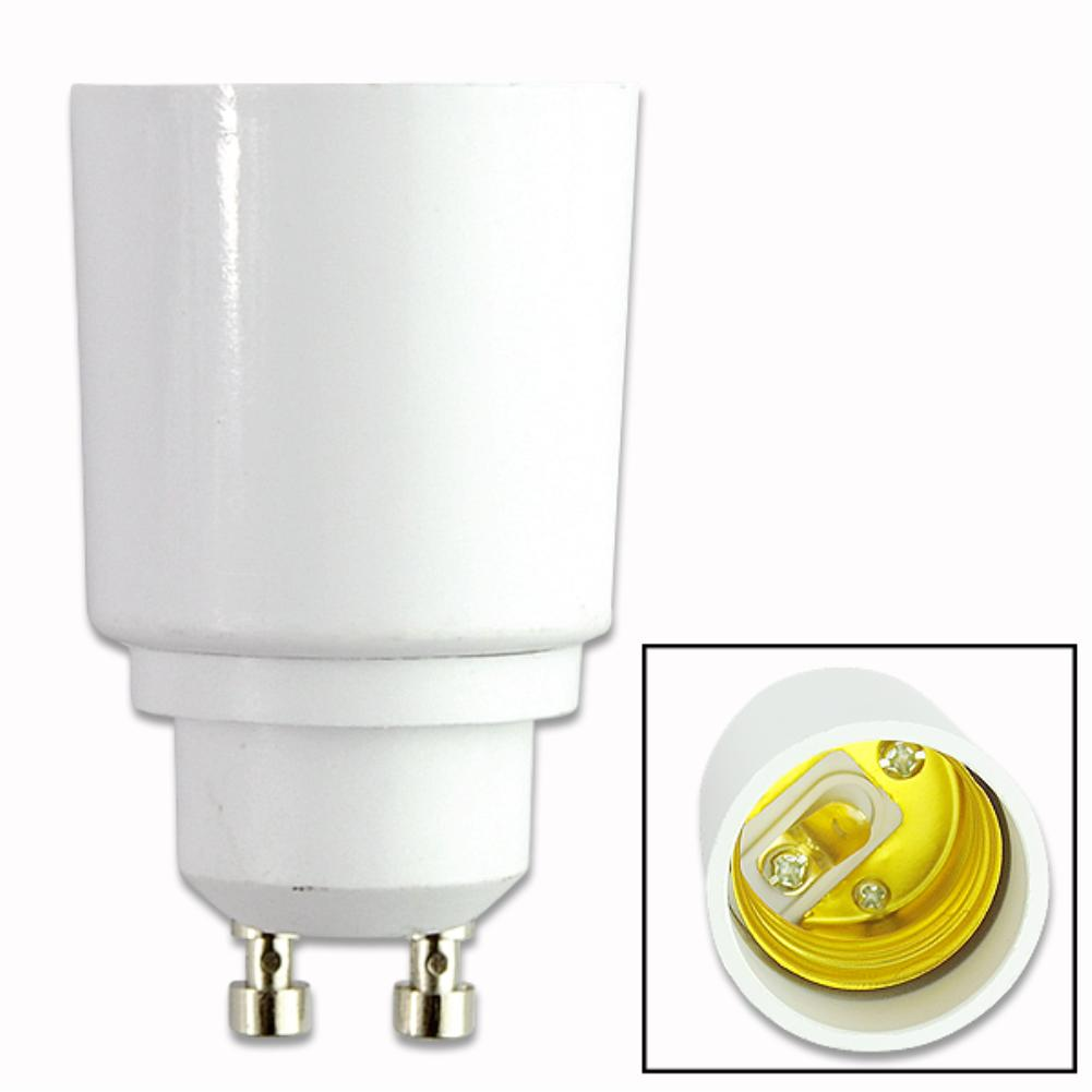 TSLEEN GU10 to E27 LED CFL Light Lamp Holder Converter Socket Light Bulb Lamp Holder Adapter Plug Extender Led Light 1PCS/LOT