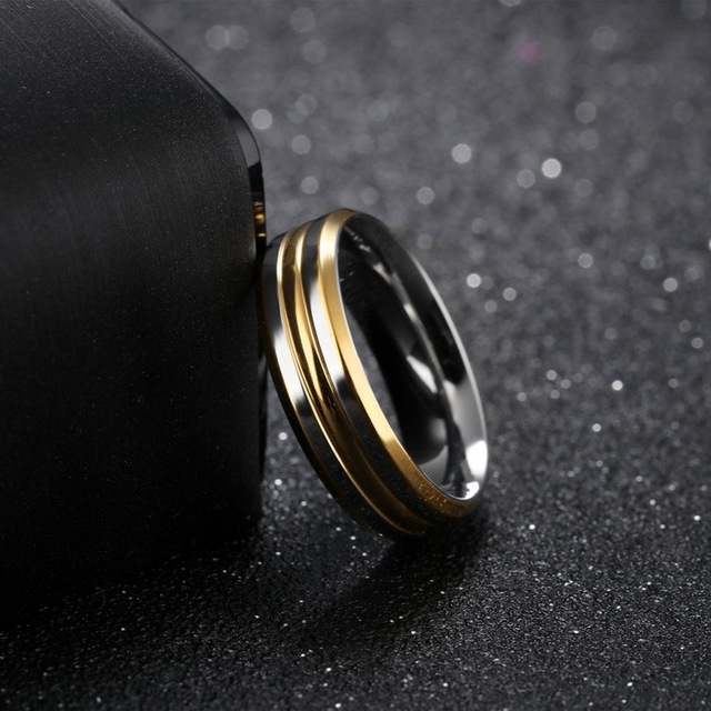 Купить кольца из нержавеющей стали для женщин и мужчин обручальные