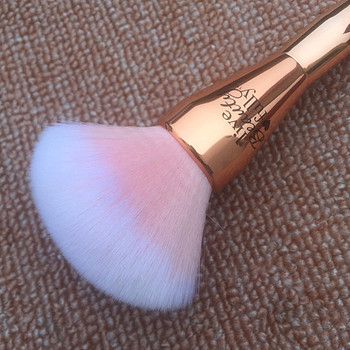 Very Big Rose Gold Powder Makeup Brush Ulta it 221 Professional Cosmetic Face Brushes Soft Hair with Cap 3