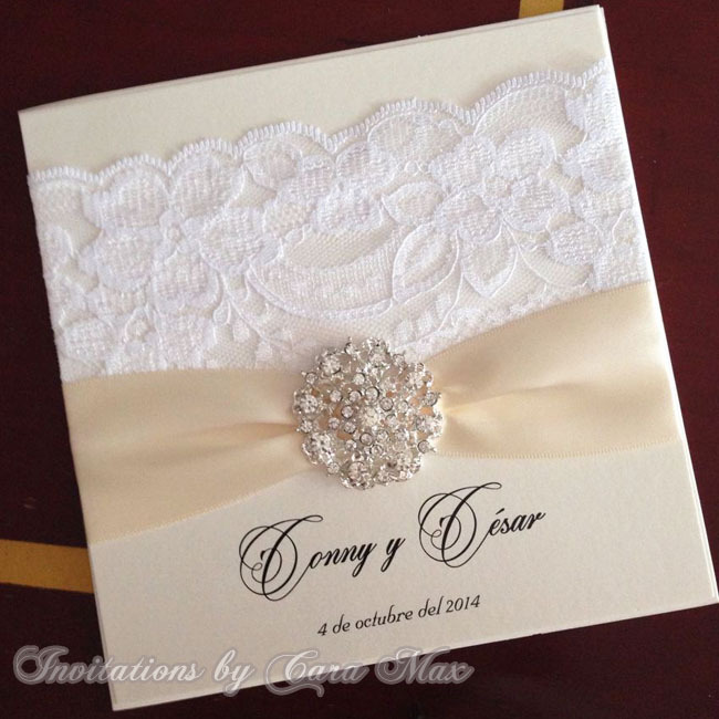 Ca0662 Elegant Lace Decorated Wedding Invitations Design In Cards From Home Garden On Aliexpress Alibaba Group