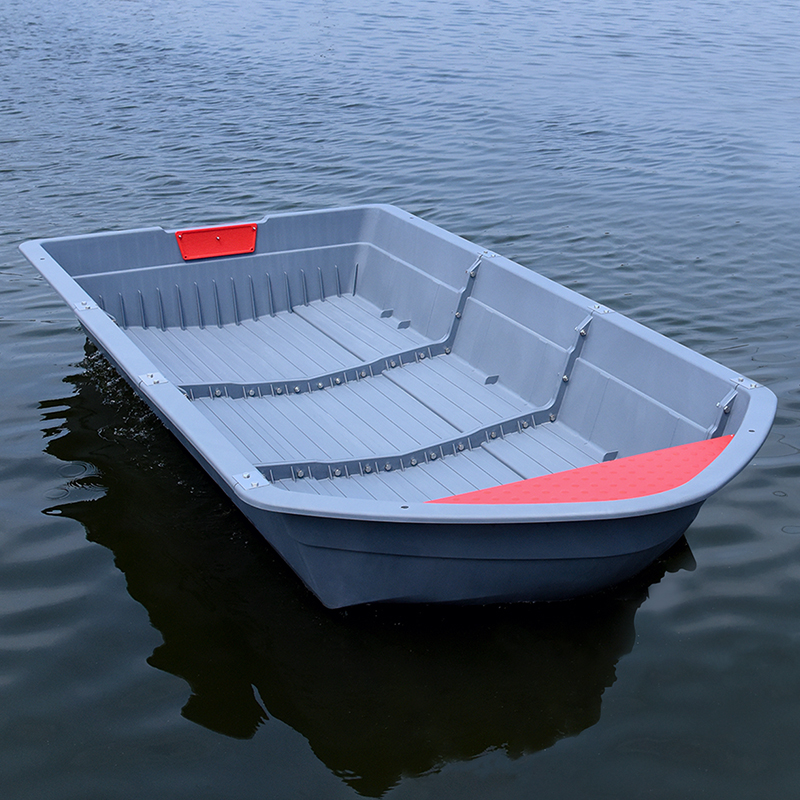 1.6/2.3/3.0/3.7/4.4m PPR Portable Boat Foldable Boat Car-mounted Combination Ship Folding Plastic Fishing Boat