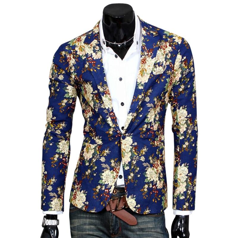 2017 Top Anzug Jacke Für Männer Terno Masculino Anzug Blazer Jacken Traje Hombre Männer Casual Blazersize S-xxl Hohe QualitäT Und Geringer Aufwand