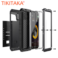 Luxury 360 Full Body Protection Case For IPhone X 8 7 6 6S Plus 5 5S