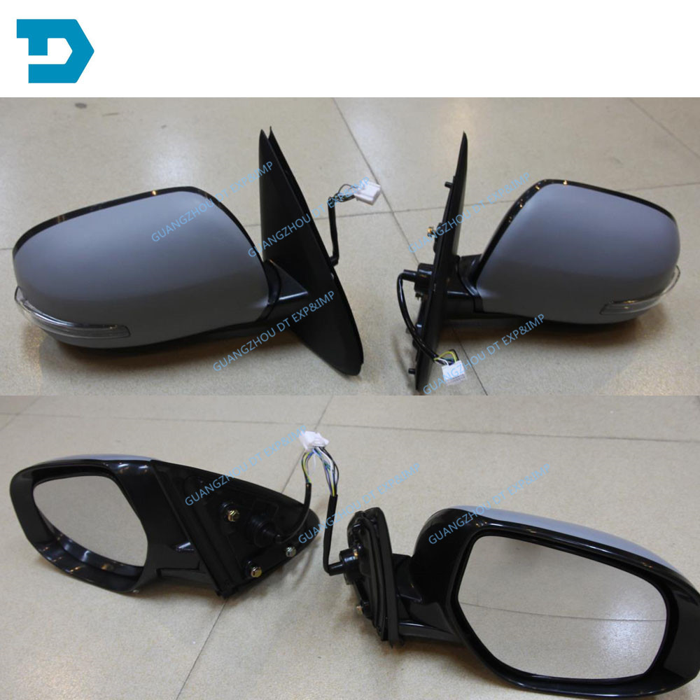 2013-2018 outlander side mirror with lamp airtrek rear mirror with lamp buy 2 piece if you need 1 pair 7 wires auto fold heat