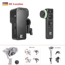 купить (EU Location) Zhiyun Crane 2 Servo Follow Focus w/ Crane 2 2.4GHz Wireless Gimbal Controller for all DSLR Cameras дешево