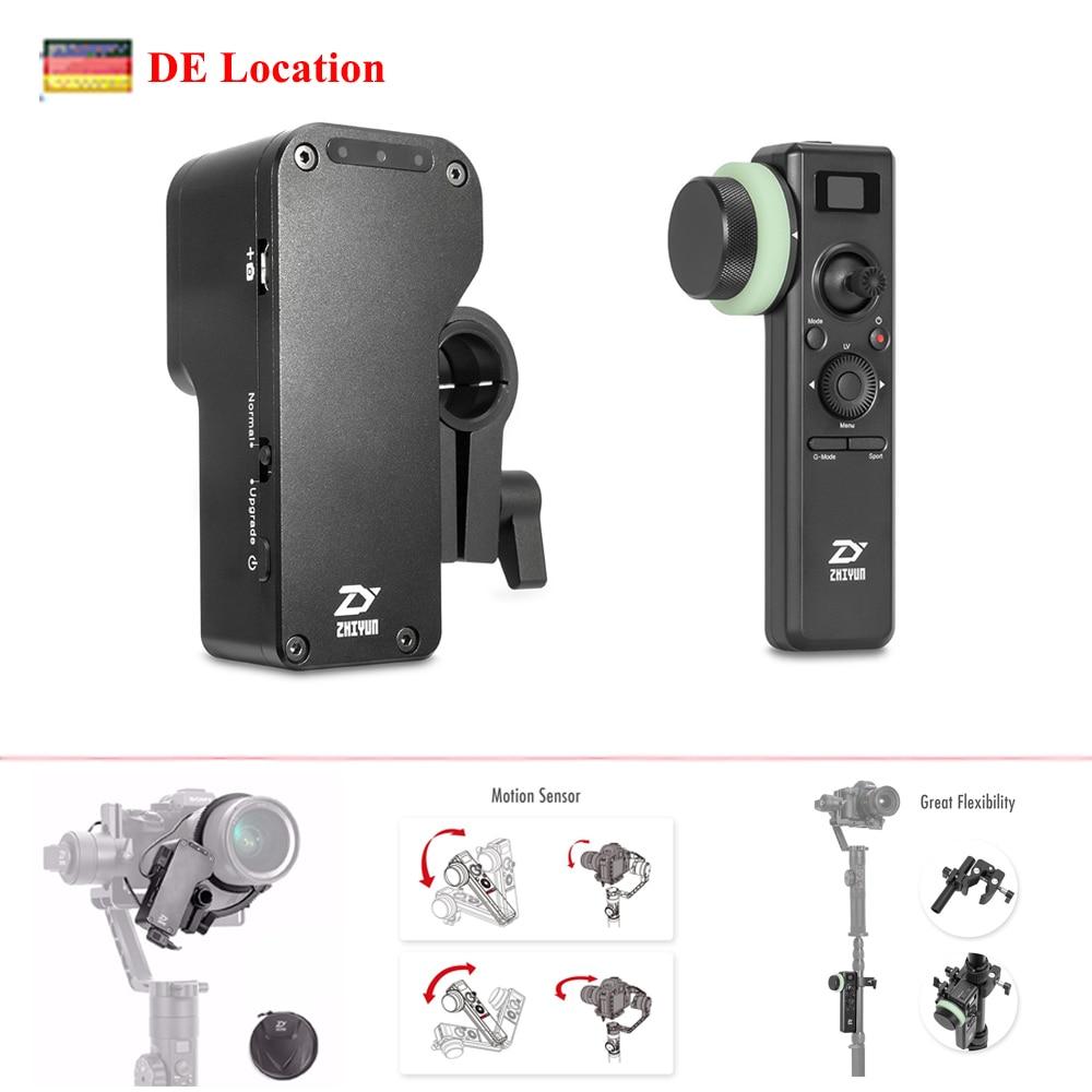 Localização da ue Foco com Guindaste Controlador para Todas as Câmeras Ghz sem Fio Zhiyun Guindaste Servo Siga 2.4 Cardan Dslr 2