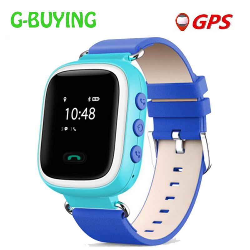 2017 New Children GPS Q60 Smart Watch Wristwatch SOS Call Location Finder Tracke