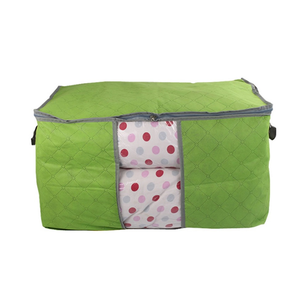 Non-woven-Organizer-Box-Carpet-Pillow-Clothing-Blanket-Quilt-Closet-Storage-Bag-M-XL