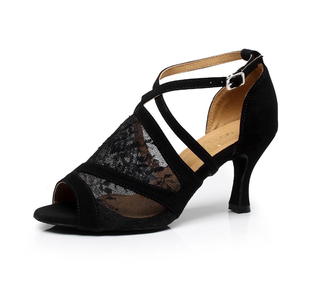 Square dance shoes 7.5cm High heels shoes size 33-43 salsa party dance shoes