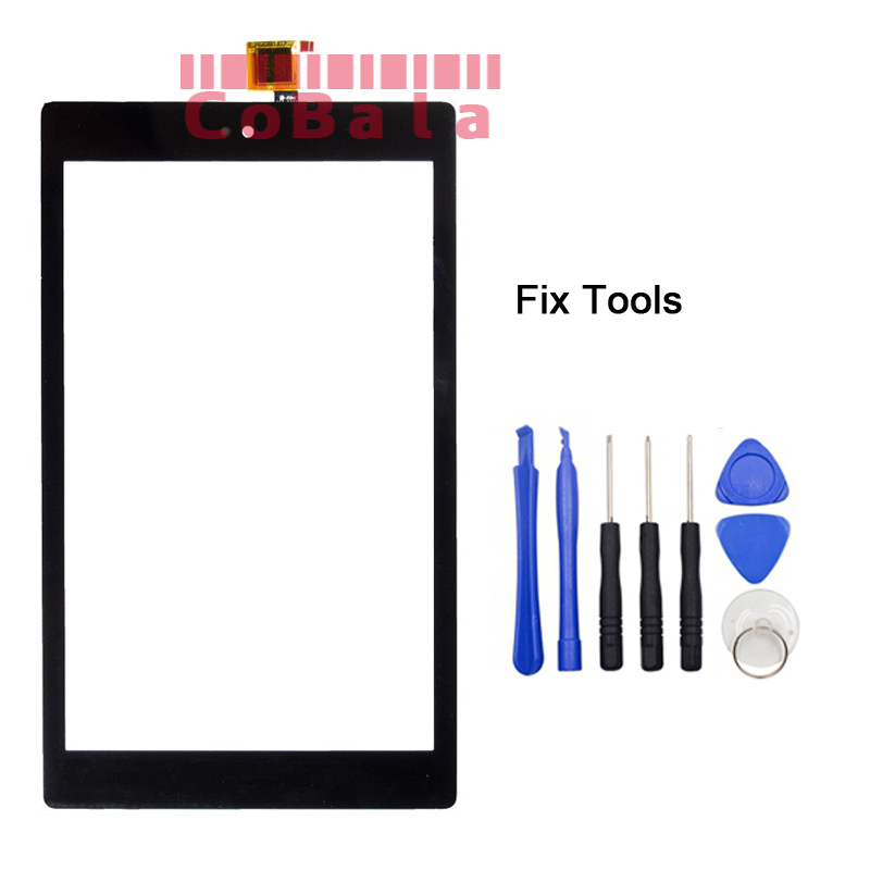 1Pcs Original For Amazon Kindle Fire HD 8 HD8 (2017 Version) Touch Screen Digitizer LCD Outer Panel Front Glass Sensor+Tools 1pcs for ipad pro 12 9 2015 version a1584 a1652 touch screen digitizer front outer panel glass tools